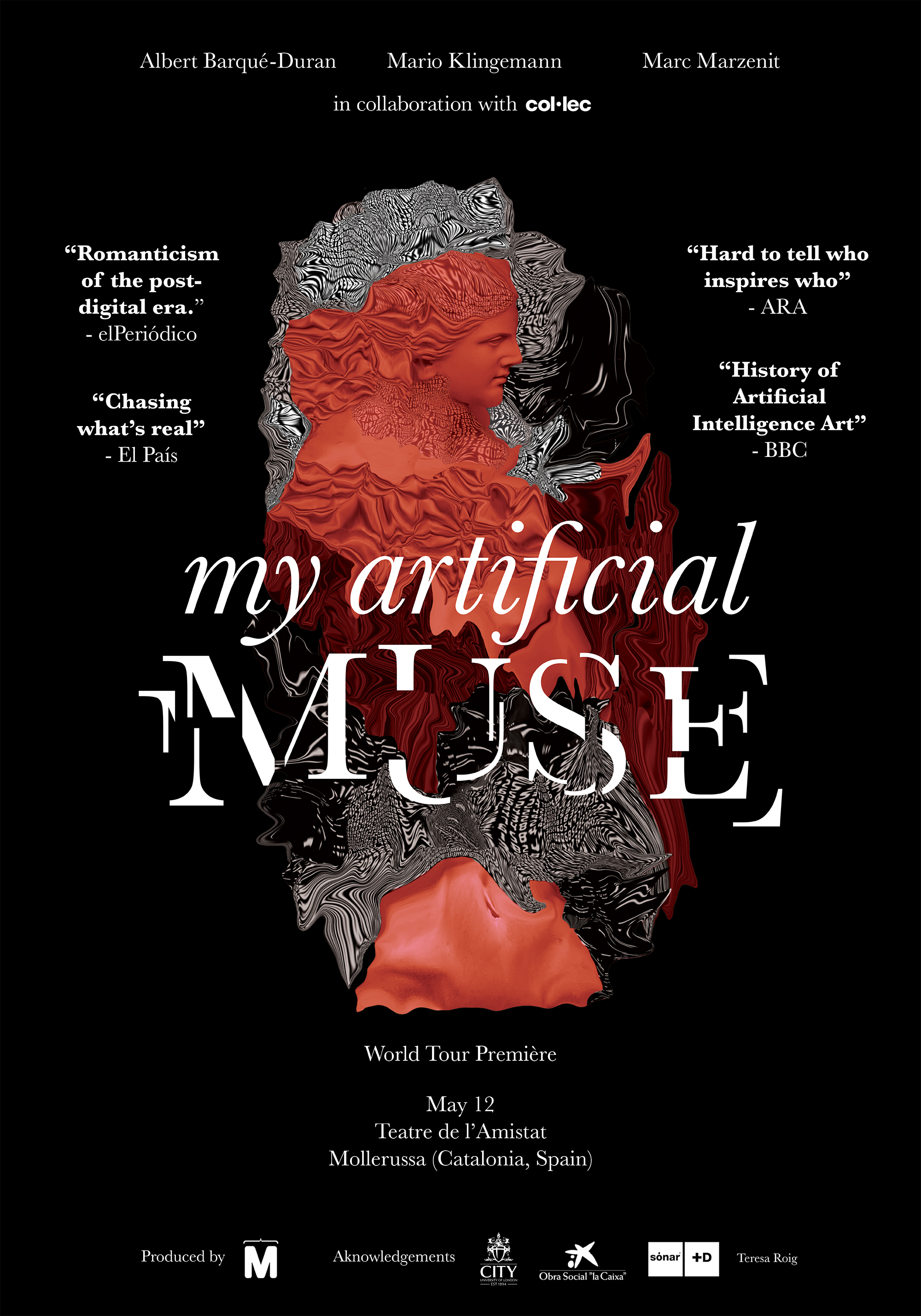 my artificial muse poster